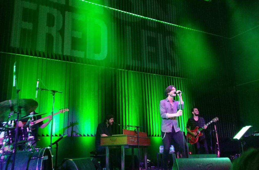 Fredi Leis en Santiago de Compostela