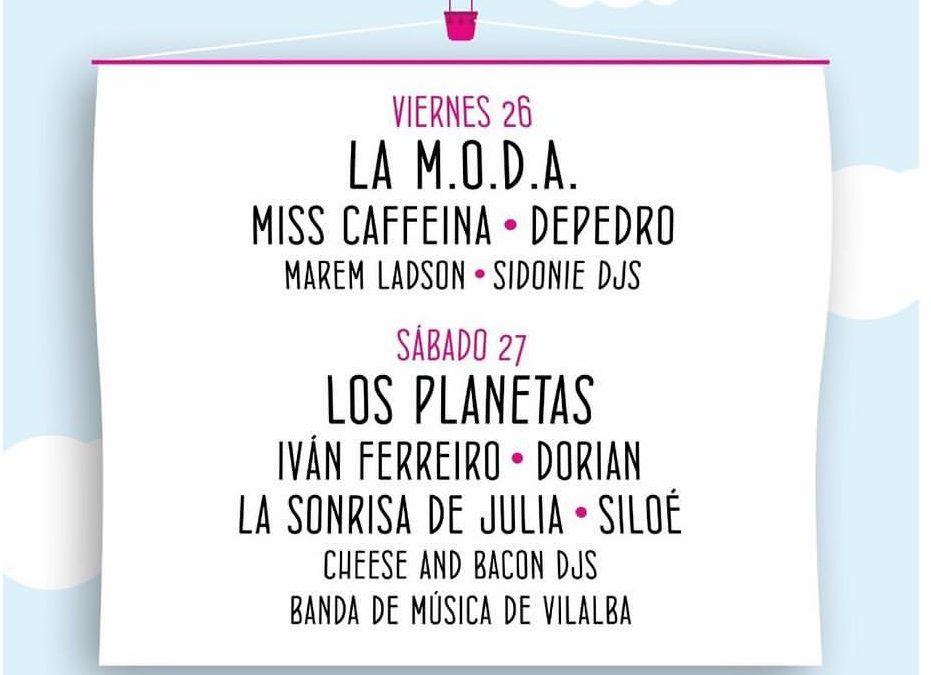 El FIV de Vilalba 2019 anuncia su cartel por días